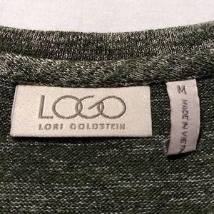 LOGO by Lori Goldstein Tops - LOGO Lori Goldstein Tunic Top